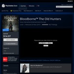 Bloodborne The Old Hunters DLC [PS4] - $14.97 AU (50% off) AU PS Store
