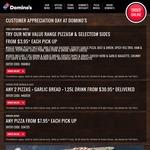 [Bundaberg, QLD] Customer Appreciation Day - Pizza $3.95 @ Domino's