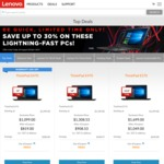 "ThinkPad T470s i5 7200U 14"" FHD IPS 8GB 256GB $1329.10 ($1079.10 with AmEx) X1 Carbon $1559 ($1209 with AmEx) Delivered @ Lenovo"