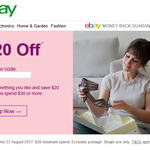 eBay $20 off Min. Spend $30