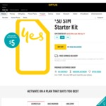 Optus Prepaid - $30 SIM Starter Kit for $5 Offer Ends 18th Sep 17. Incl Delivery
