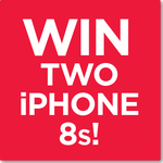 Win Two iPhone 8 64GB Handsets Worth $2,158 from Kogan