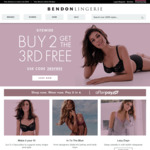 40% off Sitewide at Bendon Lingerie. 2 Days Only!