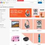20% off Myer eBay Store (Up to $300, 1 Transaction Per Person)
