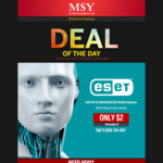 Deal of the Day: ESET Antivirus OEM (1 Device 1 Year License), $2 @ MSY