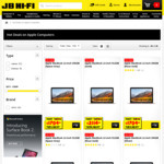 10% off All Apple Mac Computers (Includes MacBook Air, Pro and iMacs) @ JB Hi-Fi