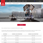 Free 1-Night Stay in Dubai When You Book Your Next Flight to Selected Destinations with Emirates