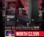Win a Ready-to-Run IEM Certified GTX 1080 Gaming PC Worth $2,599 from Scorptec