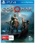 [PS4] God of War - $49.95 Delivered @ Harvey Norman