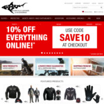 Shark Leathers 10% off Storewide