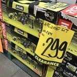 [VIC] Ryobi One+ 18V 4 Piece Kit Including Two 2.5Ah Batteries $299 (Was $399) @ Bunnings Nunawading