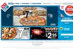 Dominos: Large Traditional Pizza $4.95 Pickup [Online Code]