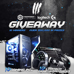 Win 1 of 10 CyberPowerPC Gaming PCs and Logitech Peripheral Bundles from Vast