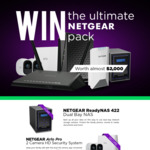 Win a Netgear Networking Prize Pack Worth ~$2,000 from Scorptec
