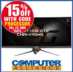"""ASUS PG348Q 34"""" Curved IPS QHD 100Hz G-Sync Gaming Monitor $1189.15 + $15 Delivery @ Computer Alliance eBay"""