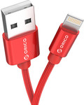 ORICO LTF-10 Red 1m Apple Lightning Cable US $0.39 (AU $0.54) Delivered from Joybuy