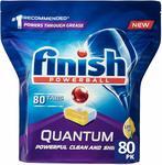 Finish Powerball Quantum Dishwasher Tablets (Lemon Sparkle) 80pk $15.99 ($0.20ea) + Post (Free with Prime/$49 Spend) @ Amazon AU