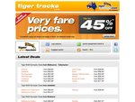 Tiger Airways up to 45% OFF Sale - Fares as low as $26.40