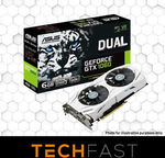 [eBay Plus] ASUS GeForce GTX 1060 Dual Fan 6GB $313.65 Delivered @ Techfastau eBay