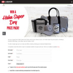Win 1 of 5 Hahn Super Dry Merchandise Packs Worth $111.80 from IGA Liquor/The Bottle-O/Cellarbrations
