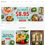5 Meals and 1 Snack for $36.05 Delivered @ Youfoodz (Existing and New Customers)