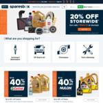 20% off Sitewide @ Sparesbox