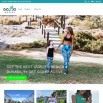 40% off Entire Range ($10 Flat Rate Shipping) @ Go2Jo Activewear