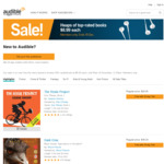 Over 200 Best Seller Audiobooks - Audible Members Only - $8.99 each @ Audible AU