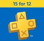 PlayStation Plus - 15 Months for The Price of 12 ($79.95) @ PlayStation Store (New Users)