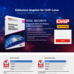 Bitdefender Total Security 2019 (5 Devices) | Free 6 Months License