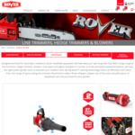 ROVER 27cc 2 Stroke Petrol Leaf Blower $99 (Save $100) + $11.95 Shipping @ Rover