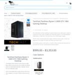 Gaming Desktop: Panthera Ryzen 5 2600 GTX 1060 Gaming Desktop $799, Tigris i5 8400 GTX 1060 $899 @ Techfast