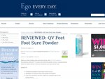 Become an Ego Everyday Test Driver and Gets Sample to Try + New Products for Review