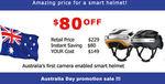 Airwheel C5+ Smart Bicycle Helmet $149 Delivered ($80 off) @ Hasinnoaustralia eBay