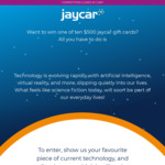 Win One of Ten $500 Jaycar Gift Cards from Jaycar