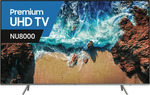 "Samsung 82"" (208cm) UHD LED LCD Smart TV (UA82NU8000WXXY) $3820.75 @ The Good Guys"