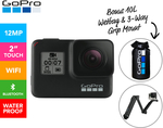 [Club Catch] GoPro Hero 7 Black 4K Action Camera + 3-Way Grip Mount & 10L Wetbag $475 Delivered ($427.50 with UNiDAYS) @ Catch
