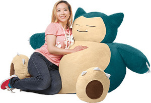 Brilliant Snorlax Bean Bag 99 Was 198 5 95 Delivery Eb Games Bralicious Painted Fabric Chair Ideas Braliciousco