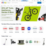 10% off Sitewide (Min Spend $120, Max Discount $100, Max 4 Transactions) @ eBay