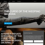 Win 1 of 663 Double Passes to a Preview Screening of The Curse of The Weeping Woman Worth $50 from Roadshow [NSW/QLD/VIC/WA]