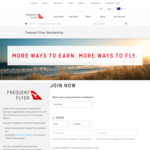 Free Qantas Frequent Flyer Membership (via Jax Tyres) (Normally $99.50)