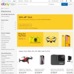 20% off 97 Selected Sellers @ eBay (Max Discount $300 Per Transaction, Min $50 Spend)