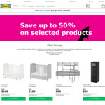 IKEA Click Frenzy - up to 50% Discount on Selected Products