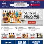 $10 off $100 Spend Online @ First Choice Liquor