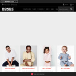 40% off Everything (Excludes Intimately & Personalised Items) + Free Shipping @ Bonds