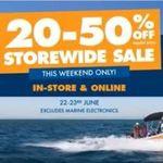20-50% off Storewide @ BCF