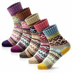 5 Pairs of Womens Winter Socks (Multicolor) $11.08, 12 Pairs Men Dress Socks $24 + Delivery (Free with Prime) @ Amazon US via AU