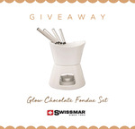 Win a Swissmar Glow Chocolate Fondue Set from Mega Boutique