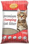 Feline First Premium Clumping Cat Litter 14 kg - $11.96 + Delivery ($0 with Prime / $39 Spend) @ Amazon AU