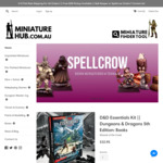 5% off All in-Stock and Preorder Items @ Miniature Hub